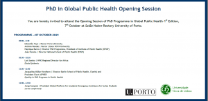 GPH Opening Session Invitation